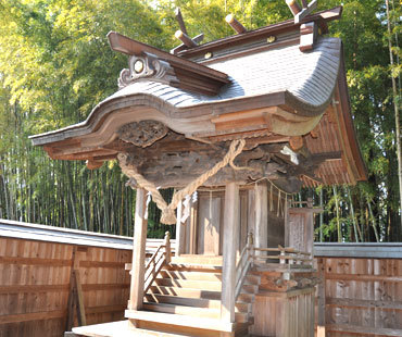 淡島神社の本殿