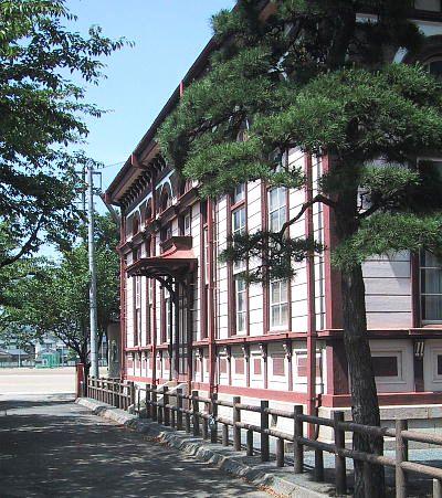 国指定文化財 旧制太田中『県立太田一高』講堂