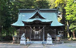 鹿嶋八幡神社境内:拝殿